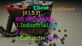 Minecraft IC2,BC,CC installieren[Minecraft 1.5.1][Client][Deutsch/HD]