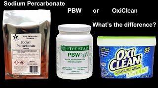 HBW 217: Sodium Percarbonate, PBW or Oxyclean