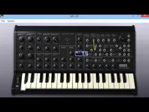 Korg MS-20 Analog Synth VST