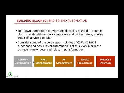 Setting the Foundation for Telecom Innovation - CloudSmartz