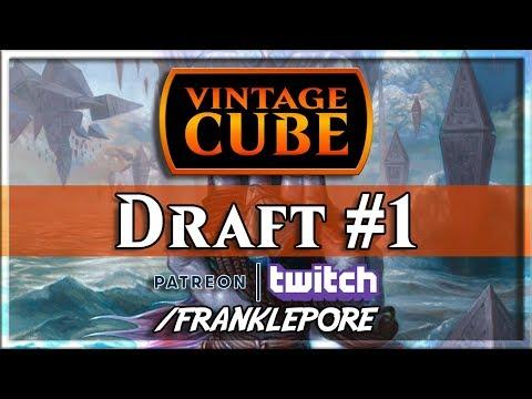 (Magic Online) Vintage Cube Draft #1 - 12/11/19