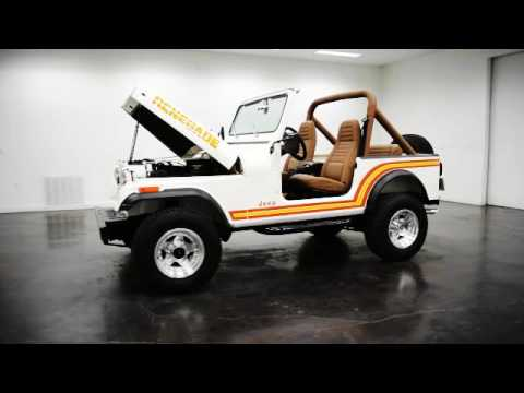 1985 Jeep CJ7 49K actual miles Frame off restored