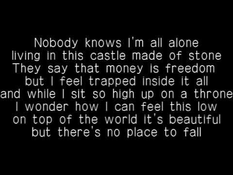 Christina Aguilera - Castle walls solo version - Lyrics