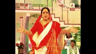 Sweet making contest in the Sen House in the serial Pratidan