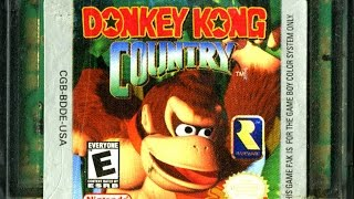 CGR Undertow - DONKEY KONG COUNTRY review for Game Boy Color
