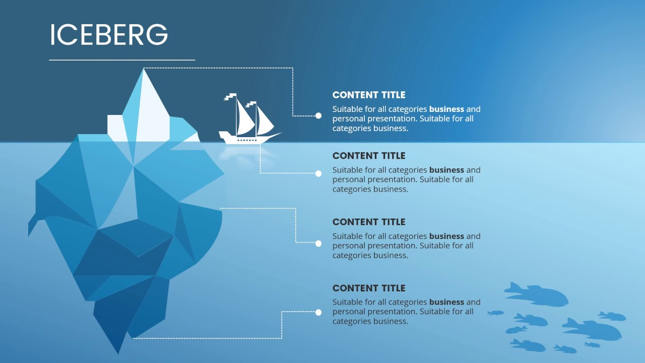 maxresdefault iceberg diagram for powerpoint & keynote youtube