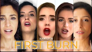 HAMILTON - FIRST BURN COVER