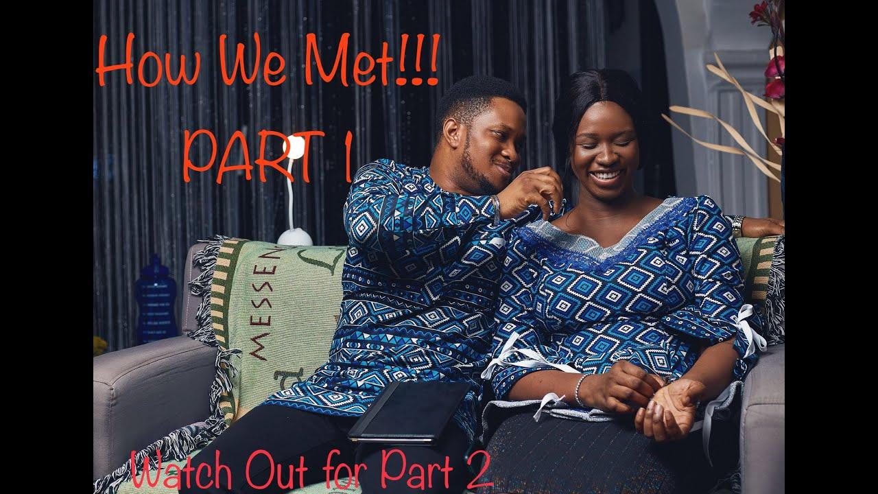 HOW WE MET!!!(FULL GIST)   LAWRENCE AND DARASIMI OYOR