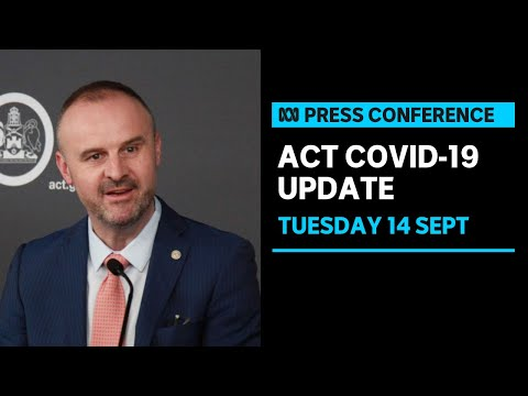 IN FULL: Andrew Barr provides ACT's daily COVID-19 update   ABC News