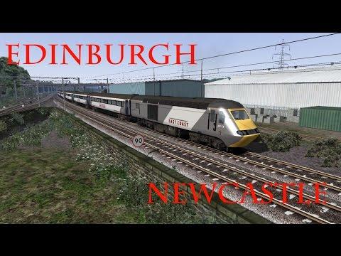 TS2015 | Edinburgh - Newcastle | Class 43 HST