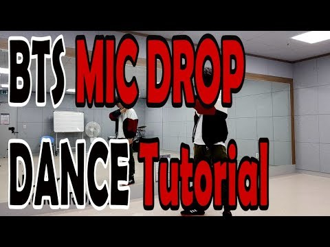 [Dance Tutorial] BTS - MIC DROP (Count + Mirrored) 안무배우기