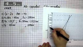 Упражнение 1445. Математика 6 класс Виленкин Н.Я.