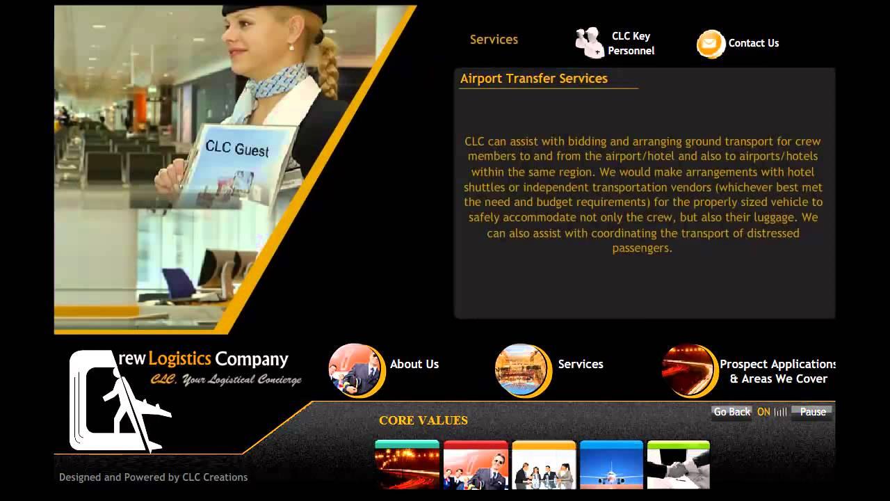 Crew Logistics Company SARL - Presentation