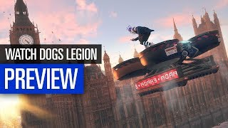 Watch Dogs Legion | PREVIEW | Drohnen, Hacking, Schießereien im E3-Video