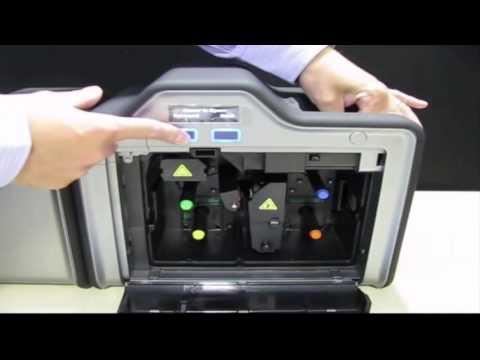 Fargo HD5000 ID Card Printer - How to Clean Printer