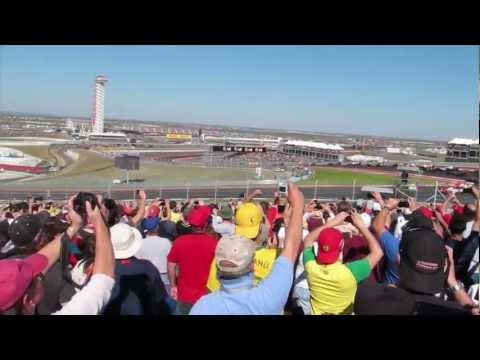 F1 grand prix Race  Austin Texas Circuit Of The Americas F1 Track Official Track of the Formula 1