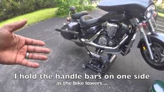 Harbor Freight motorcycle Jack .....