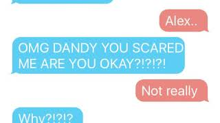 Sad suicide texting story