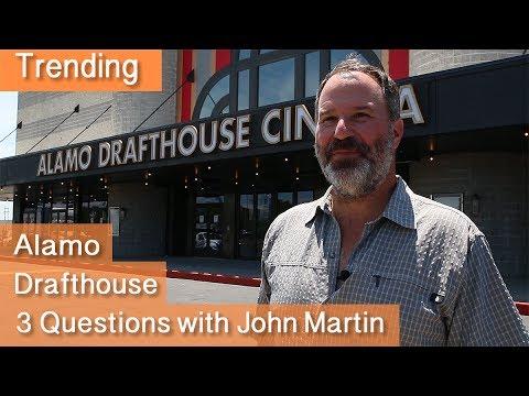 Alamo Drafthouse - 3 Questions with John Martin