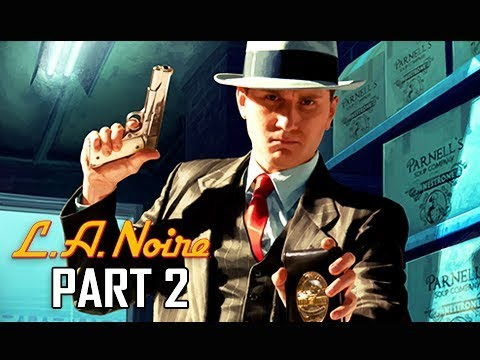 LA NOIRE Gameplay Walkthrough Part 2 - The Driver's Seat (5 STAR Remaster Let's play Commentary)