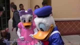 Meet 'n' Greet Donald and Daisy Duck (Disneyland)
