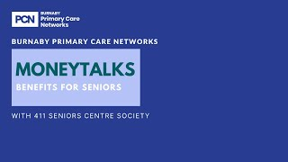 MoneyTalks for senioirs