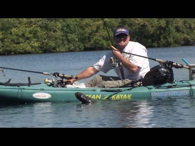 Ocean Kayak Caper Huge Snook Chew On This