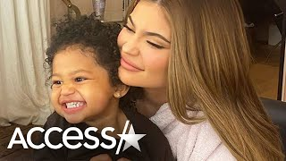 Kylie Jenner Tests Stormi's Patience In TikTok Candy Challenge
