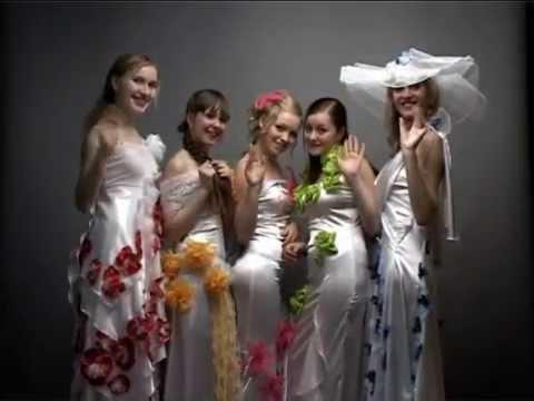 """Рекламный ролик Образцового театра моды """"Шарм"""" 2009 года..."""