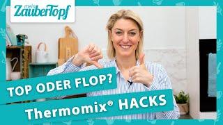 TOP oder FLOP: Echte Thermomix® Hacks oder einfach nur Quatsch? 🤔
