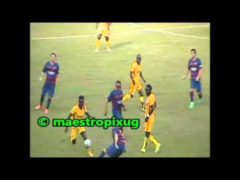 Uganda All stars against Barcelona legends 12 12 15 full game