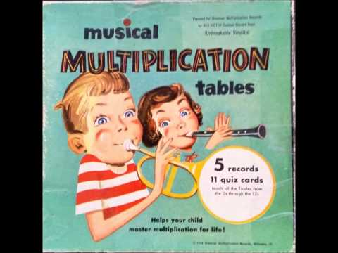Multiplication Tables Sung by Billy Leach