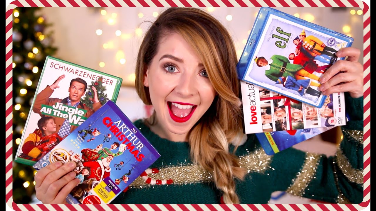 My Top 10 Christmas Films Zoella Youtube