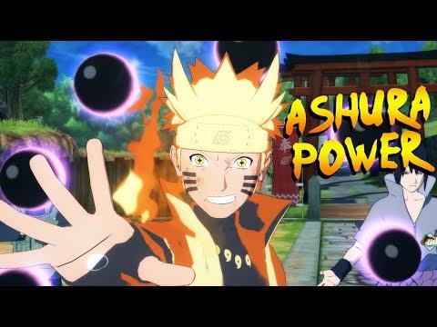 NARUTO ASHURA POWERFUL MOD! LEBIH IMBA DARI BORUTO! - NARUTO ULTIMATE NINJA STORM 4