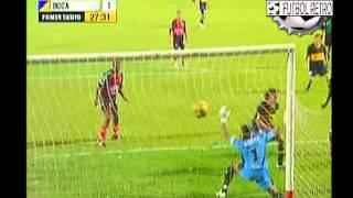 Cucuta 3 vs Boca Jrs 1 Copa Libertadores 2007  FUTBOL RETRO