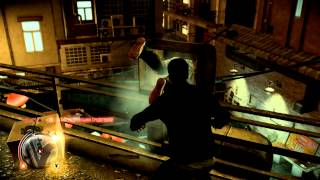 Sleeping Dogs. Gameplay on Nvidia GeForce GT 540M. Fighting. На Русском.
