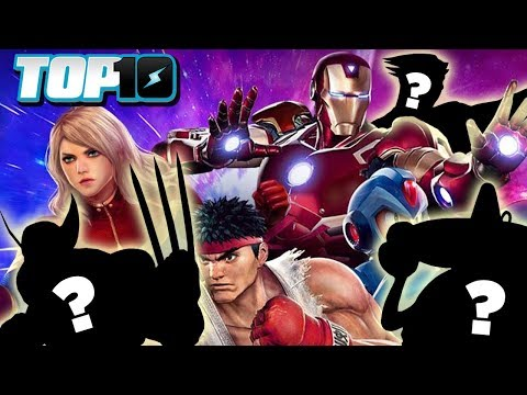 Top 10 Characters Missing from Marvel vs Capcom Infinite