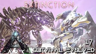 ARK: EXTINCTION - ALPHA KING TITAN VS MEGA MEK BOSS BATTLE ASCENSION | ARK SURVIVAL EVOLVED E17