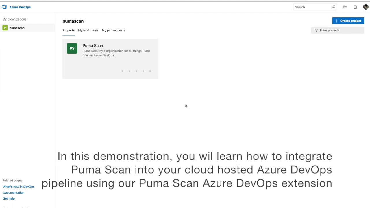 How to run the Puma Scan Pro Extension in Azure DevOps