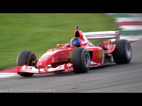 Ferrari F1 F2002 V10 PURE Exhaust Sound!