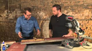 How To Build A Bench Out Of Reclaimed Wood With Blake Sloane