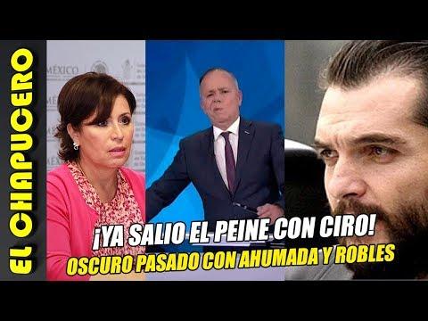 Revelan oscuro pasado de Ciro con Rosario y Ahumada. ¡Por eso la defiende en TV nacional!