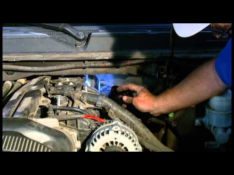 How to change an oil sending unit on 2007-2014 Chevrolet, GMC, Silverado, Suburban, Escalade. Tahoe,