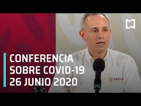 Conferencia Covid-19 México - 26 junio 2020