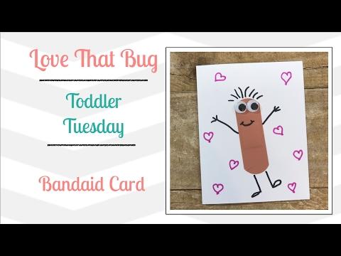 Toddler Tuesday | Bandaid Card