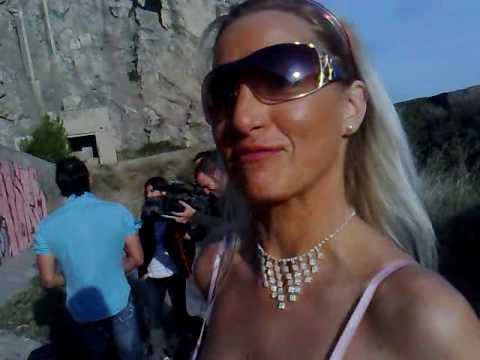 Rodaje Dunia Montenegro y Michelle Blanch