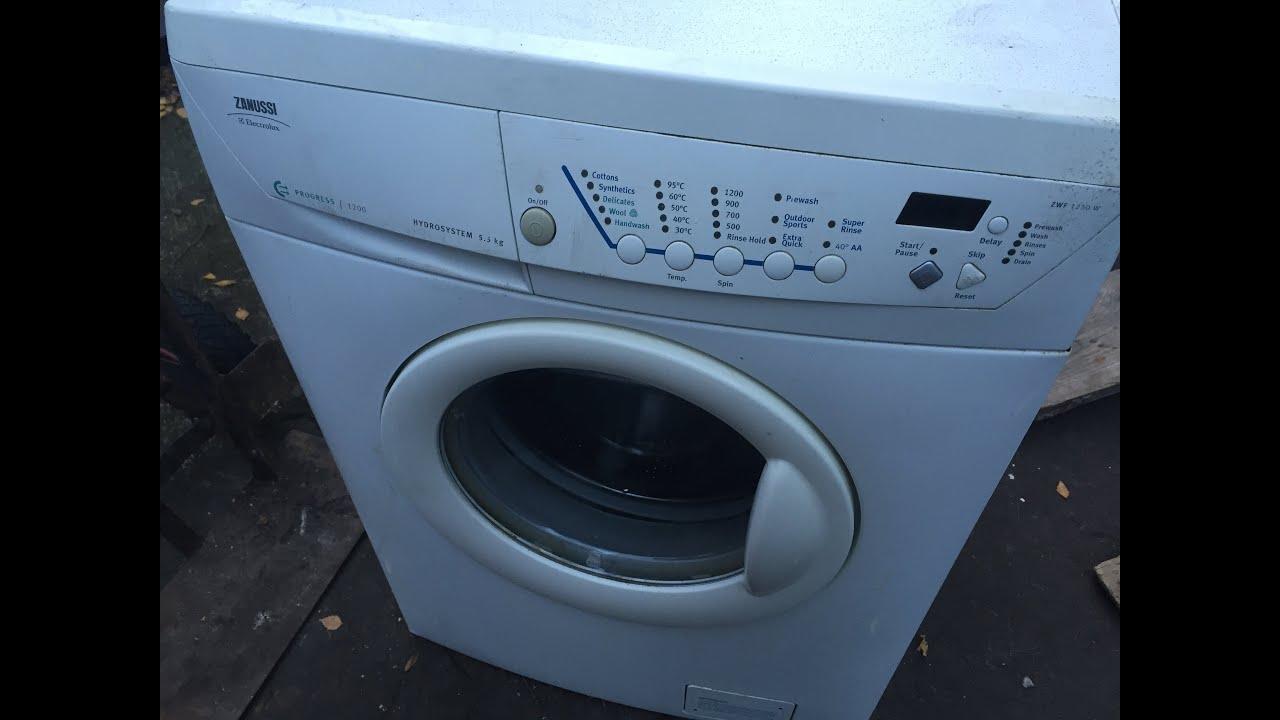 washing machine iron filter