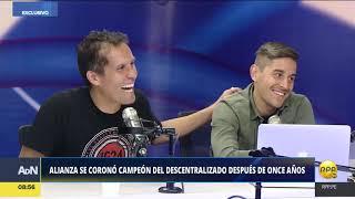 Jugadores de Alianza Lima hablan de su título nacional tras 11 años│RPP