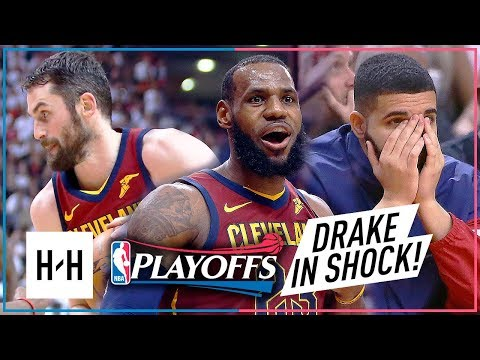 LeBron James & Kevin Love EPIC Game 2 Highlights vs Raptors 2018 Playoffs ECSF - SHOCKED Drake!