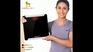 Hesley Digital Weighing Scale HSB1 Introduction